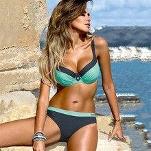 YCDYZ, новинка, сексуальное Бразильское бикини, пуш-ап, купальник-танга женский купальник бикини Feminino Maillot De Bain Femme, купальник