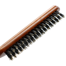 Boar Bristle Hair Wooden Comb