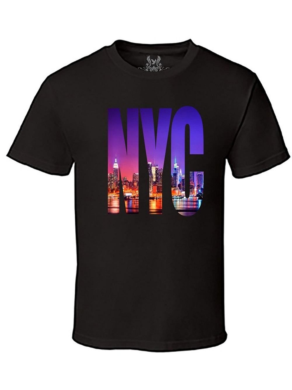 Design a t shirt nyc - 2017 Fashion Casual Streetwear Men S Printed New York City Nyc Graphic Design T Shirt Men S