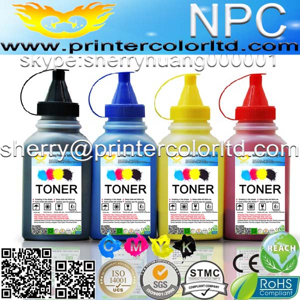 100g//Bottle,6 Black,6 Cyan,6 Magenta,6 Yellow No-name Refill Copier Color Laser Toner Powder Kit for OKI 42918916 42918915 42918914 42918913 C 9600 9650 9800 9850 Laser Toner Power Printer