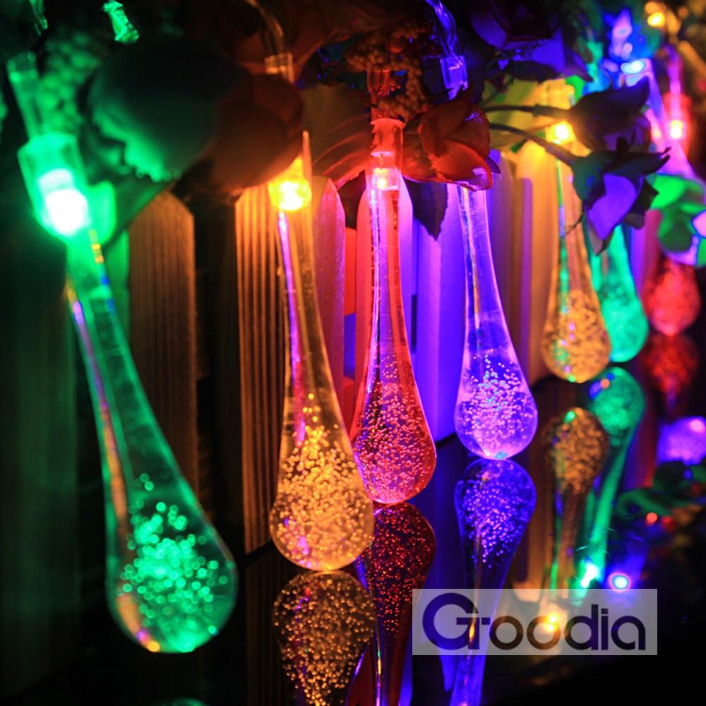 4.3M ledd lys med 40led ball AA batterier ferie dekorasjon lampe - Ferie belysning - Bilde 5