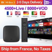 IPTV France Arabic Xiaomi Mi Box 3 Android Tv Box SUBTV 1 Year IPTV Subscription 2GB 8GB Arabic French IPTV Portugal Italy IP TV