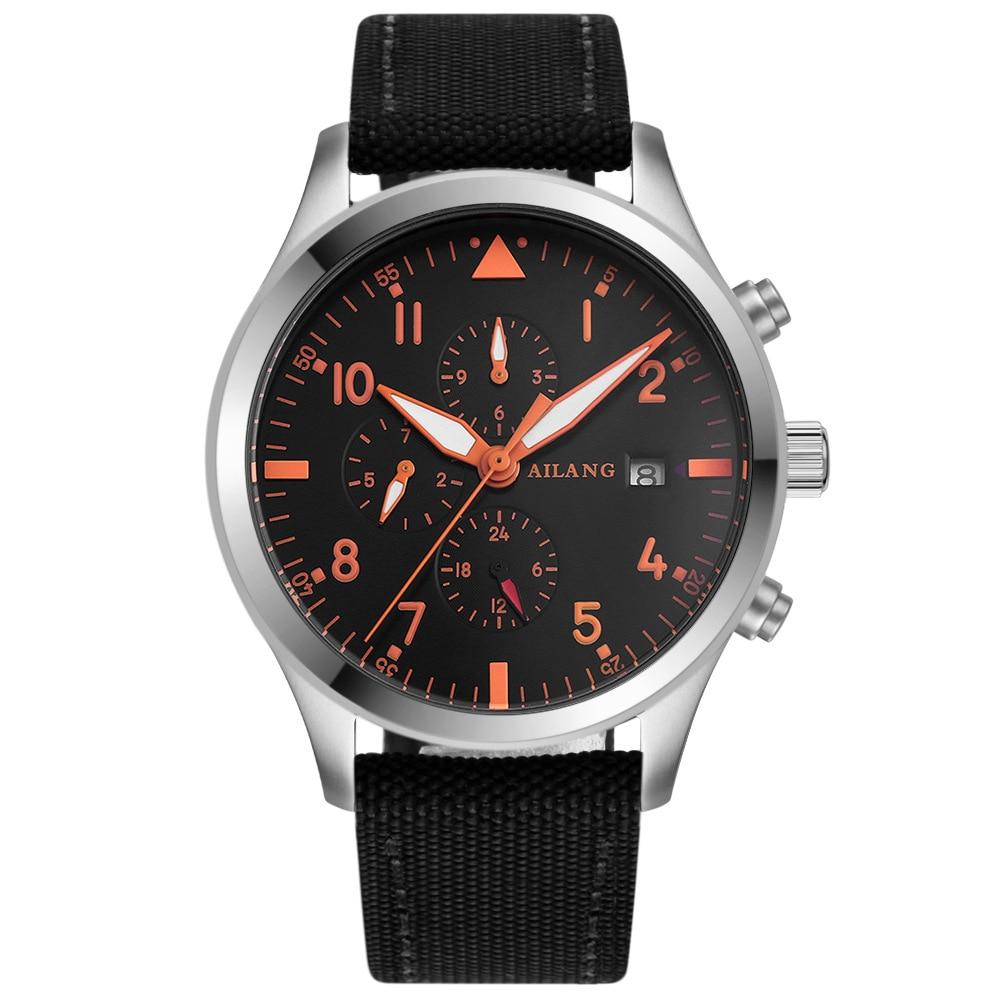 Men's Multi-Functional Mechanical Business Watch цена и фото