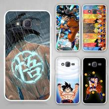 Dragon Ball Z Goku Hard White Plastic Case Cover for Samsung Galaxy J1 J2 J3 J5 J7 C5 C7 E5 E7 2016 2017 Emerge