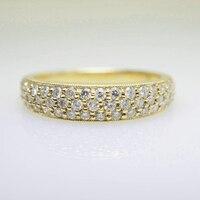 14 К желтого золота маркиза Муассанит Обручение обручальное кольцо шириной 4.5 мм для Для женщин в Fine Jewelry