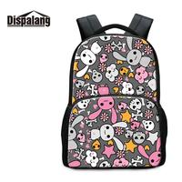 Felt Backpacks for College Students 17 inch School Bookbags Boys Prints Mochilas Cool Animal Back Pack for Girls Book Bags