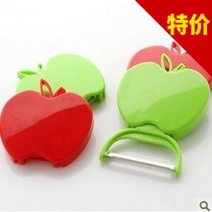 2015 NEW Foldable Apple shape Peeler Fruit peeler Kitchen Gadgets Fruits and veg