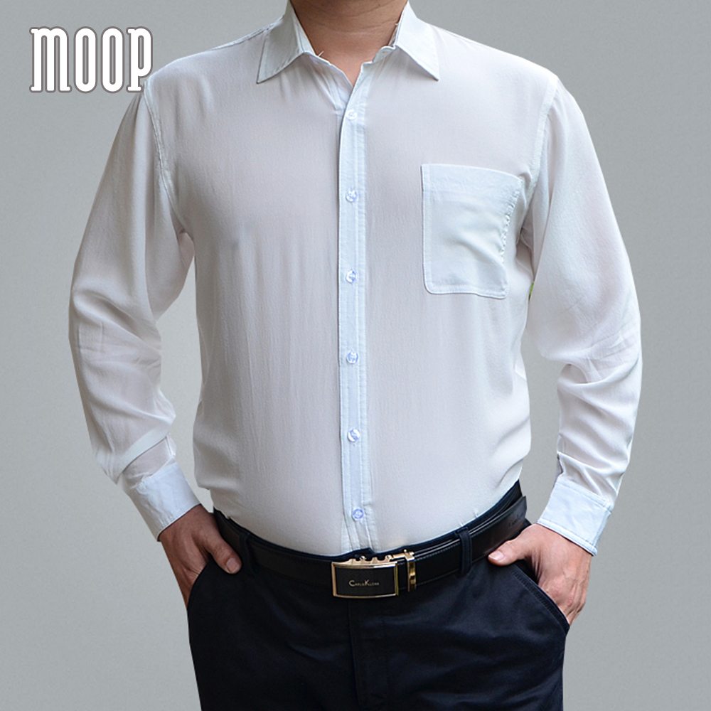 Estilo americano 100% camisa de seda camisas dos homens preto branco azul  chemise homm LT1473 camiseta masculina camisa masculina Frete grátis em  Camisas ... 5e64bb3508e31