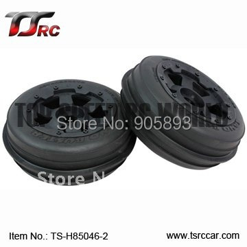 5B Front Sand Wheel Set(TS-H85046-2)x 2pcs for 1/5 Baja 5B, SS , wholesale and retail 5b front highway road wheel set ts h95086 x 2pcs for 1 5 baja 5b wholesale and retail page 5