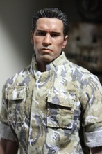1/6 scale figure doll head shape for 12″ action figure doll accessories The Terminator Arnold Schwarzenegger male Head carved