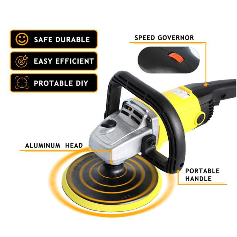 Auto Polierer 220 V Variabler Geschwindigkeit Autolack Pflege Werkzeug Polieren Maschine Sander Elektrische Boden Polierer