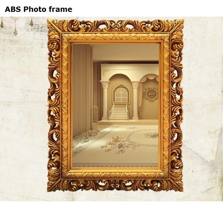 Grand cadre photo mural personnalisé mariage photo studio cadre de style européen personnalisé rétro peinture à l'huile cadre