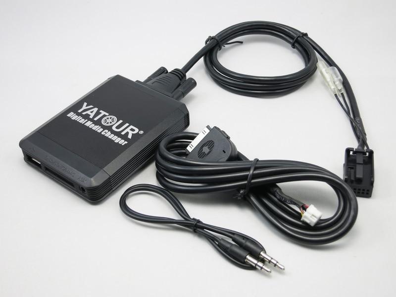 Yatour YT M07 for iPod iPhone USB SD AUX Digital Media Changer For Peugeot Citroen RD4