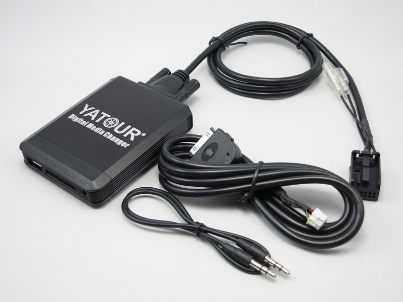 Yatour YT-M07 pentru iPhone iPod USB SD AUX Media Digital Changer - Electronică Auto