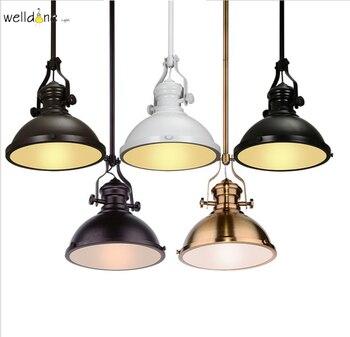 110v 220v lámpara Colgante De hierro Vintage lámpara Colgante luz lámpara Colgante...