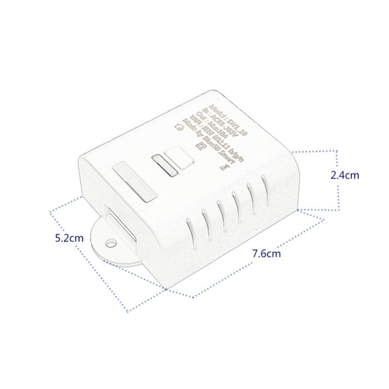 Image 2 - Wifi Switch Relay  DIY Module AC 220V 110v Wireless Wi fi Light Timer Switch For Home Automation Smart Remote Control-in Remote Controls from Consumer Electronics