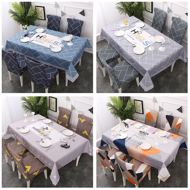 Waterproof Nordic Style Tablecloth Rectangle Home Kitchen Table Cloths Party Banquet Dining Decorative Table Cover image