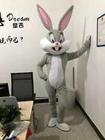 2019 Sell Like Hot Professional Easter Bunny Mascot Costumes Rabbit and Bugs Bunny Adult mascot for sale