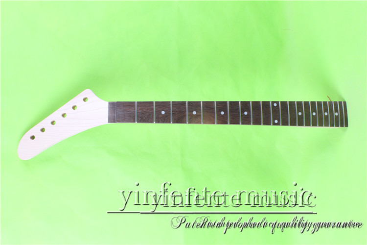 0058#  LEFT   25.5 Electric guitar neck   Bolt on  rosewood     fingerboard fine quality  22  fret s 00166 25 5 big head electric guitar neck fine quality rosewood fingerboard 22 fret