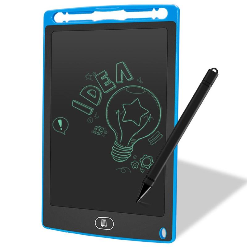 NNRTS Bulletin Board Blackboard 8.5 Inches LCD Digital Tablet Magnetic Chalkboard Children Graffiti Flip Chart Writing Boards