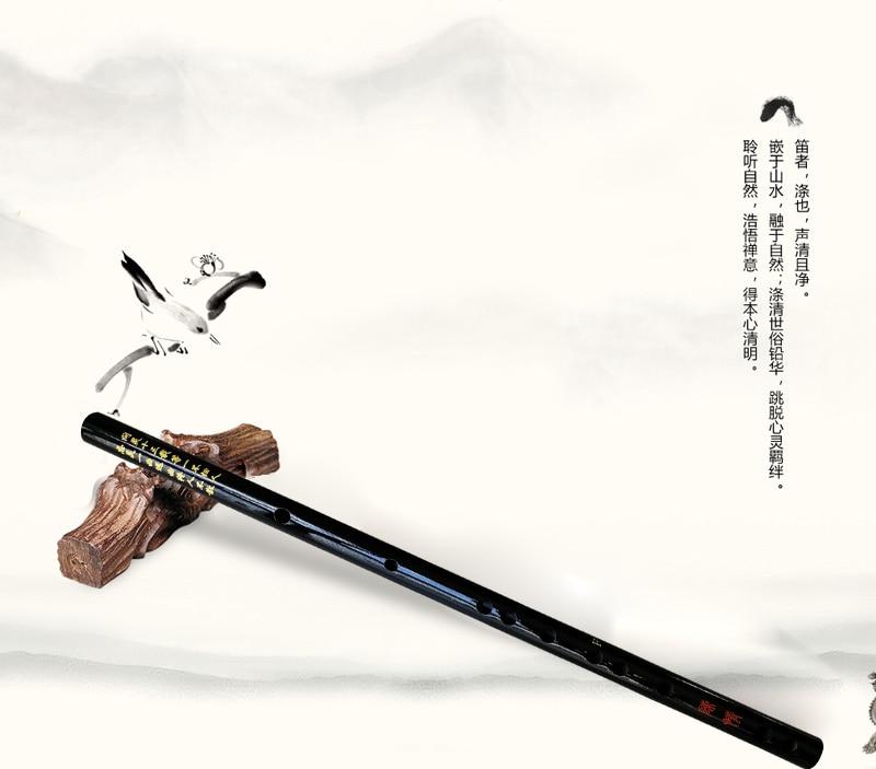 Китайская традиционная бамбуковая флейта E F G Вертикальная флейта кларнет музыкальный инструмент белая черная цветная Флейта с уникальными кисточками