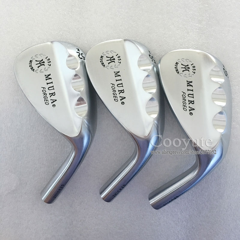 New Golf heads MIURA K-Grind FORGED Golf wedges heads 52.or 56.60degree 1Pcs Golf club heads No Clubs shaft Free shipping