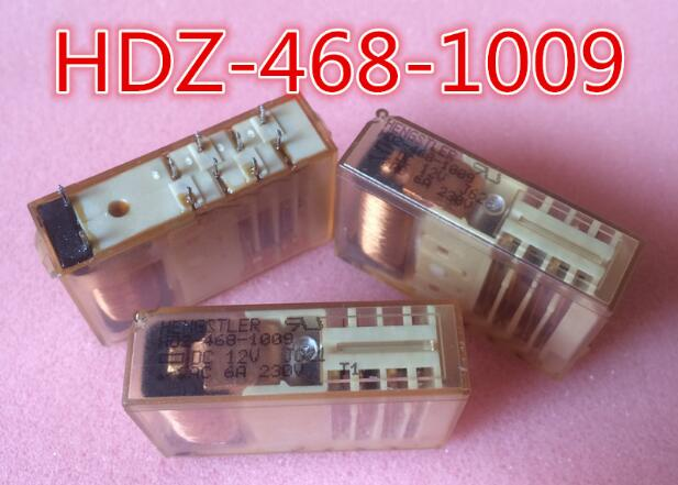 HOT NEW relay HDZ-468-1009-DC12V HDZ-468-1009 DC12V HDZ4681009 HDZ4681009-DC12V 12VDC DC12V 12V DIP10 1PCS/LOT цена 2017