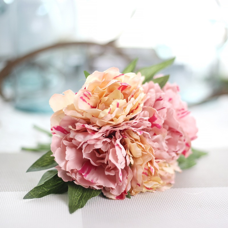 Diy artificial hydrangea peony flower bouquet diy silk wedding diy artificial hydrangea peony flower bouquet diy silk wedding flowers for home decoration accessories artificial flowers cheapt mightylinksfo
