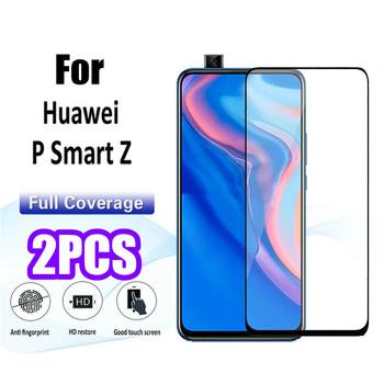 Dla Huawei P Smart Z ochronna folia ze szkła hartowanego dla Y6 Y7 Pro Y9 Prime Y5 2019 P20 P30 Lite Honor 10i 20i 9H szkło hartowane tanie i dobre opinie NCSW Pokrowiec Wodoodporna Anti-knock