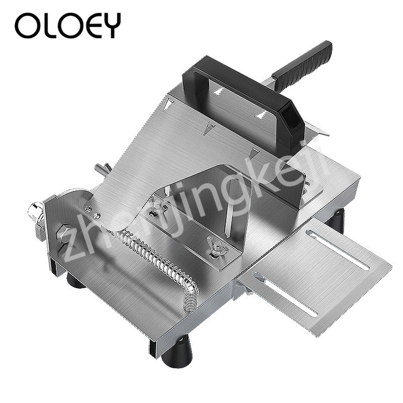 Mutton Roll Machine Slicer Beef Roll Machine Stainless Steel Adjustable Cut Frozen Meat Cut Hard Melons Vegetables Rotatable 95°