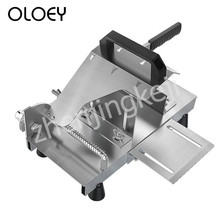 Mutton Roll Machine Slicer Beef Stainless Steel Adjustable Cut Frozen Meat Hard Melons Vegetables Rotatable 95°