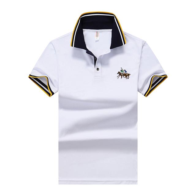 New design de moda verão t marca polo camisa dos homens dos homens do homme casuais t camisa de algodão de manga curta ts110