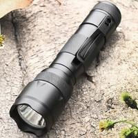 502B LED Flashlight Torch EDC Pocket Light 5modes Cree LED Tactica Flashlight 18650 Waterproof Handheld Lanterna