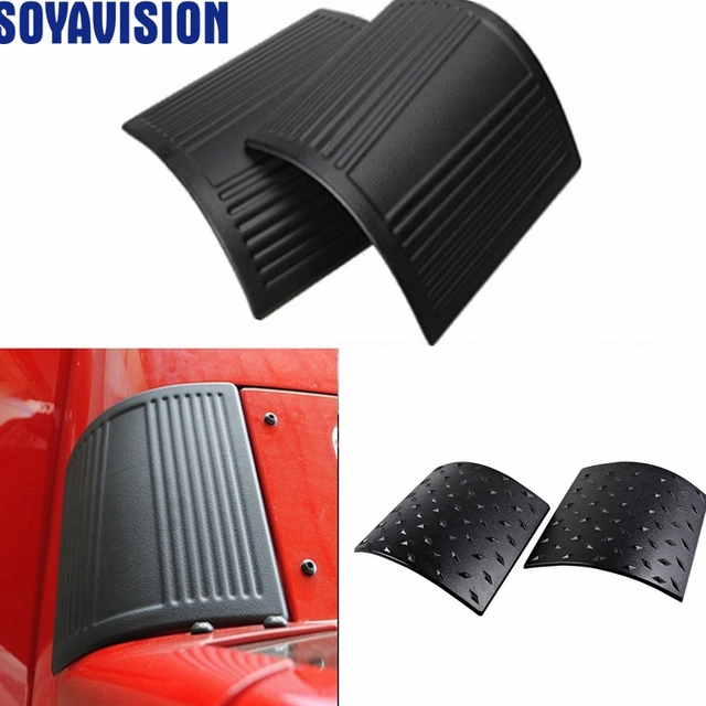 US $12 8 |Cowl Body Armor Powder Coated Finish Outer Cowling Cover for Jeep  Wrangler JK Rubicon Sahara Sport X & Unlimited 2/4 door P-in Body Kits