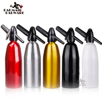Hot Sales Soda Siphon 1Ltr Make Sparkling Water for Mojitos,Gin Fizz Cocktail and Wine Spritzer