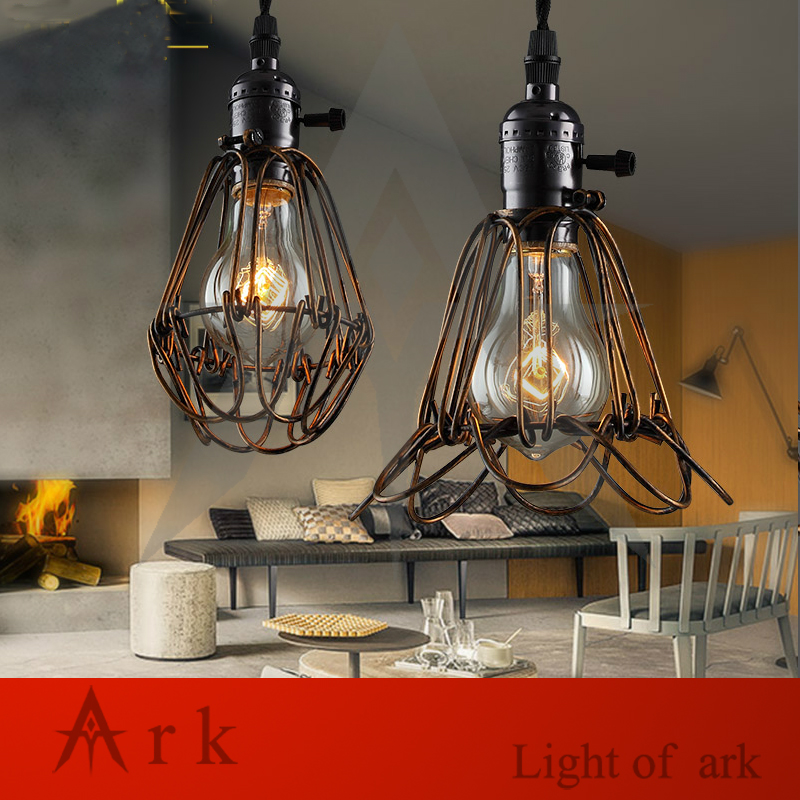 E27 socket Loft Droplight Retro Pendant Lights Mediterranean Sea Style Lamp 110-220v classicality Pendant lighting