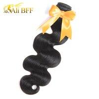 ALI BFF Peruvian Body Wave Bundles 100% Human Hair Weave Bundles Natural Black Color No Shedding Remy Hair Can Buy Mix PCS