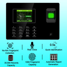 Biometric Fingerprint Time Attendance System TCP/IP USB Fingerprint Reader Access Control Attendance Time Clock Employee Device все цены