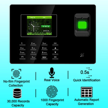 Biometric Fingerprint Time Attendance System TCP/IP USB Fingerprint Reader Access Control Attendance Time Clock Employee Device цена 2017
