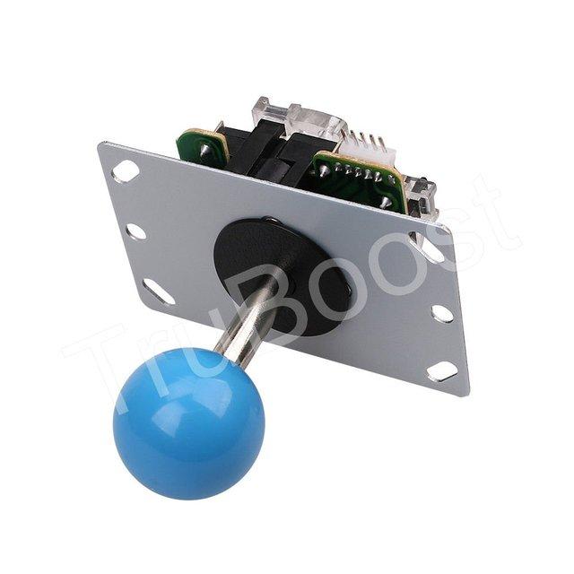 Arcade Joystick DIY Kits 4/8 Way 5Pin Cable Joystick Fighting Stick Push Buttons USB Board