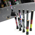 For Mini Cooper S accessories R50 R53 R55 R56 R57 R59 R60 Clubman Countryman Decoration Antenna Car Roof Radio Aerial UK Flag