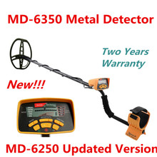 Two Years Warranty MD-6350 Underground Metal Detector Gold Digger Treasure Hunter MD6350 Professional Detecting Equipment