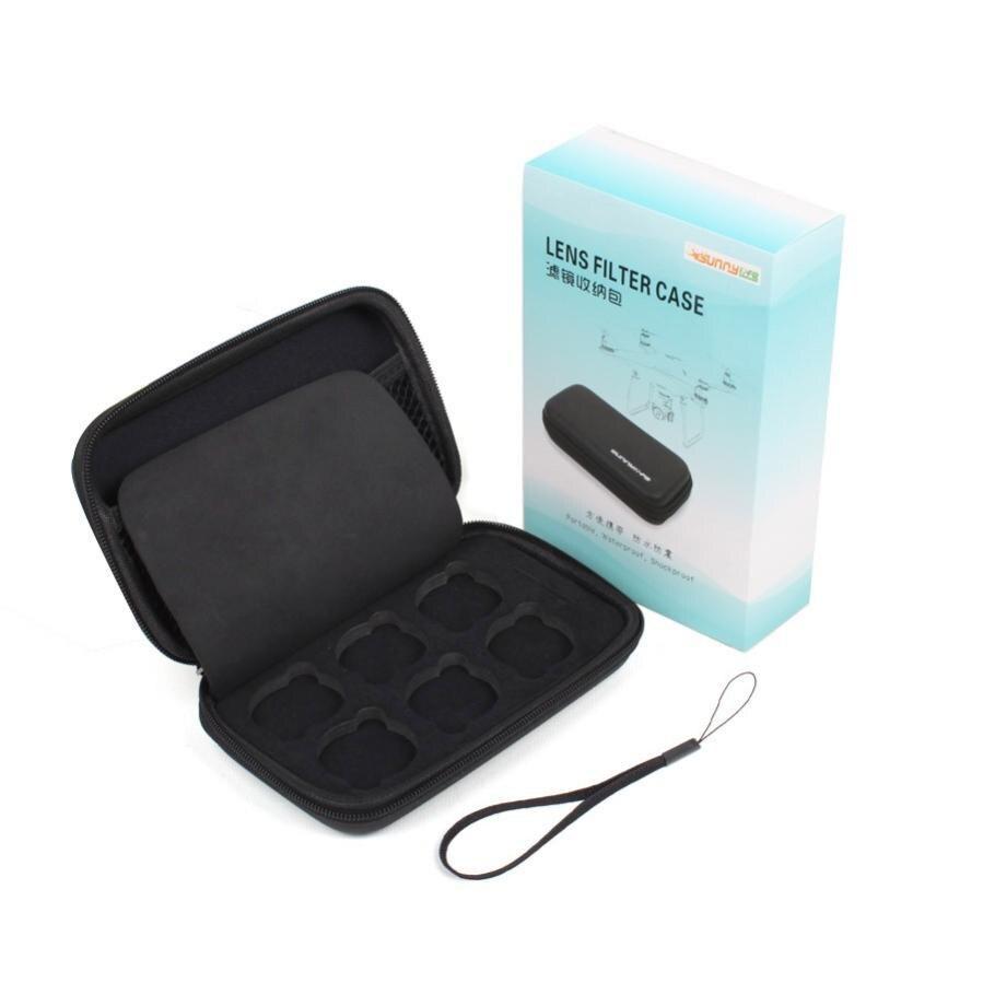 Camera Lens Filter Storage Case Bag For DJI Phantom 3/4 Drone Quadcopter dji phantom 4 parts