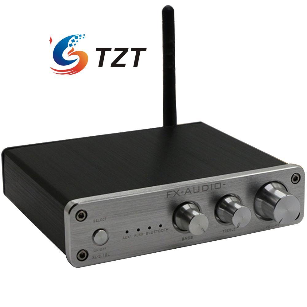 Prix pour FX XL-2.1BL 2.1 Canal 50 W + 50 W + 100 W Multimédia Bluetooth Numérique Amplificateur Audio-Blanc/noir