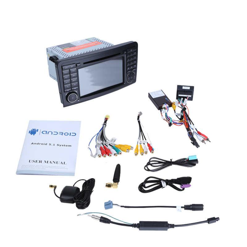 """2 グラム RAM 32 グラム ROM 車の DVD 7 """"アンドロイド 9.0 Gps ナビゲーション付マルチメディア Fer ベンツ w164 W300 ML350 ML500 X164 G320 GL350"""