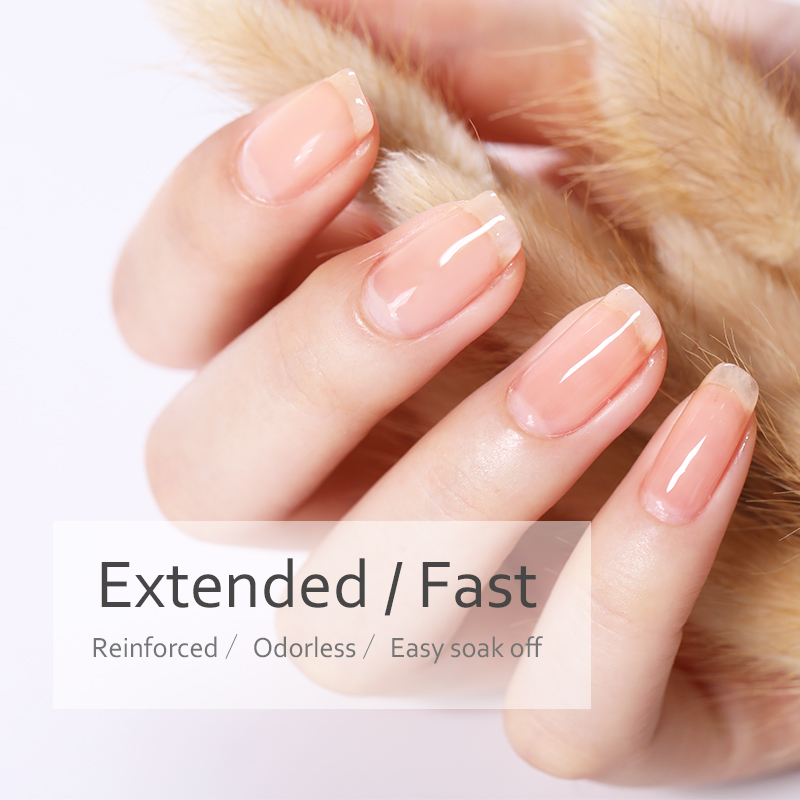 BORN PRETTY 6ml Quick Building Nail Tips Shiny Finger Extension Glue Nail Art Gel Easy Soak Off UV Nail Gel Lacquer in Nail Gel from Beauty Health