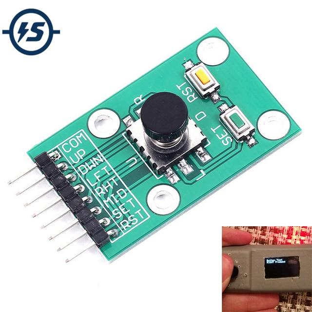 Five Direction Navigation Button Module for MCU AVR Game 5D Rocker Joystick Independent Keyboard for Arduino Joystick Module