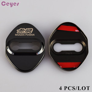Image 4 - Ceyes автомобильный Стайлинг эмблемы JDM чехол для Honda Mugen Power Accord CRV Hrv Jazz автомобильные наклейки аксессуары автостайлинг 4 шт./лот