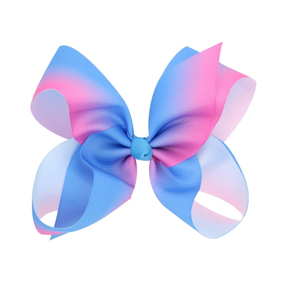24pcs Free shipping JoJo Siwa Large Rainbow Hair Bow