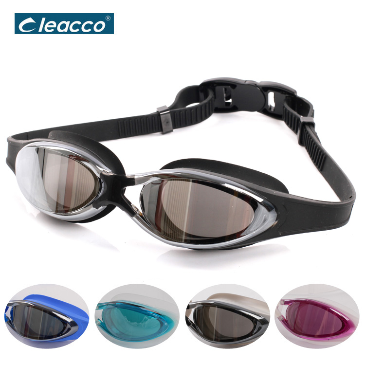 NEW Adult Swim Goggles with Mirror Coated Lens and Anti-fog UV Protection Swim Glasses for Men Women Swimming Goggles eyewear boihon bh017 anti fog uv protection hd vision swimming goggles